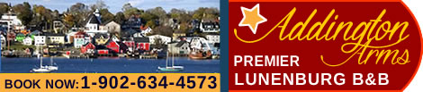 Addington Arms B & B bed and breakfast Lunenburg